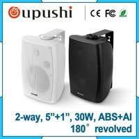 30W PA System Wall Mountable Commercial Speaker On Wall Speaker