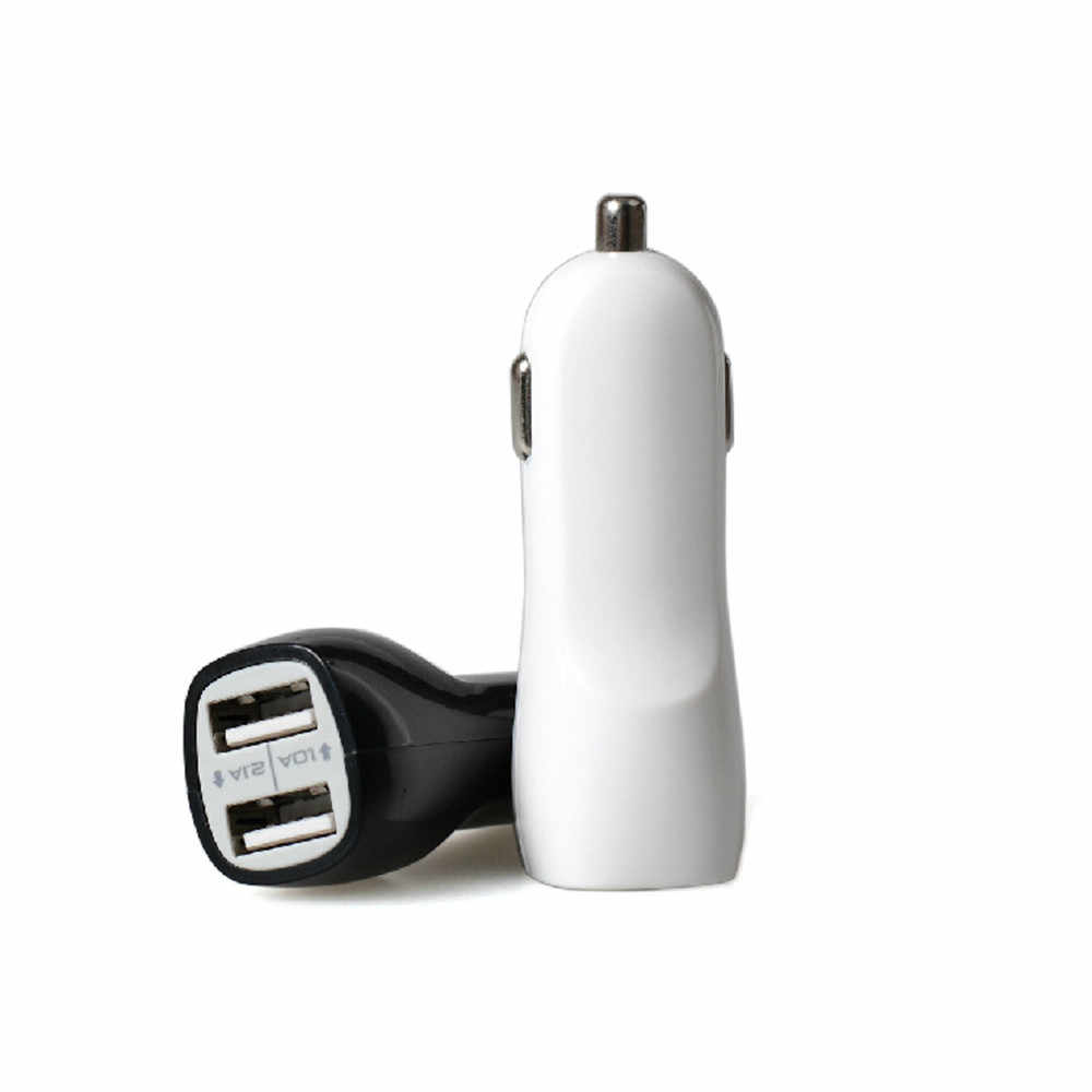 12 24 V 2.1A Mini 2 Porte Usb Caricabatteria da Auto per Iphone 6 per Iphone 5 Ipad Mini Ipad E Molte Fotocamere Digitali Car Styling
