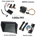FPV Combo System 5.8Ghz Transmitter Receiver no blue FPV Monitor 900TVL ccd Camera DJI Phantom QAV250 CX20 Quadcopter walkera