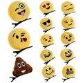 Новый Мило Emoji Смайлик Унисекс Мило Оголовье Шпилька Зажим Для Волос Группа для Женщин Hairwear DM #6