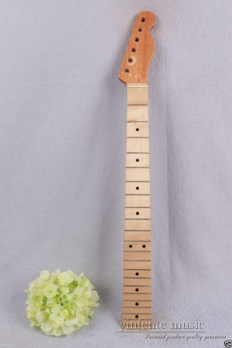1pcs electric guitar neck 22 fret 25.5'' maple Fretboard solid wood Replace #818 1x electric guitar neck mahogany maple wood fretboard truss rod 22 fret 25 5