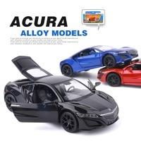 1 32 Honda Acura NSX Alloy Car Model Simulation Metal Back Car Children Car Sports Car