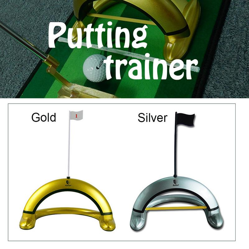 2019New High Quality Golf Precision Putter Trainer Accurate Golf Putting Trainer Improve The Control And Precision