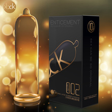 Davidsource 10 unidades Enticement ultrafino Nautral liso látex condones adultos anticoncepción sexo producto envío gratis