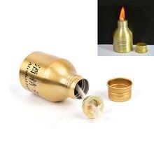 1 шт. портативная мини Металлическая лампа спиртовая жидкость печи для выживания на открытом воздухе Кемпинг Туризм Путешествия
