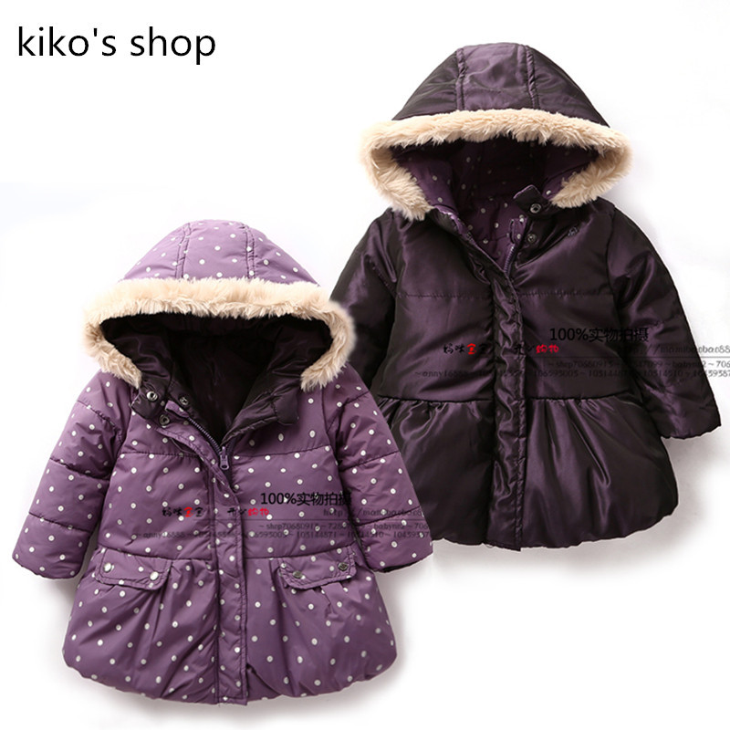 Children's winter coat jackets baby girls winter Fashion wear ...