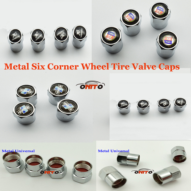 Hot Selling Car Accessories Car Wheel Tire Valve Caps For BMW Alpina - Bmw alpina accessories