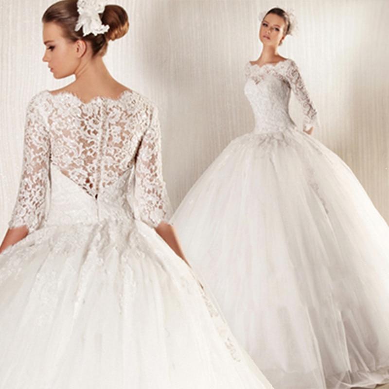 French Style Wedding Dress
