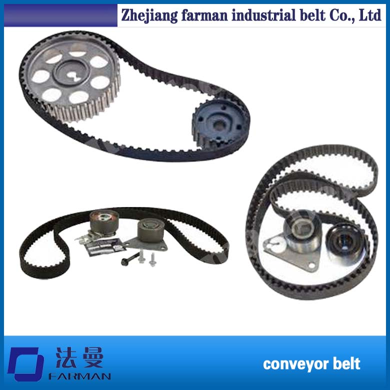 PU Open End Belt, Synchronous Belt, PU Toothed Belt (8M) contrast pu wide belt