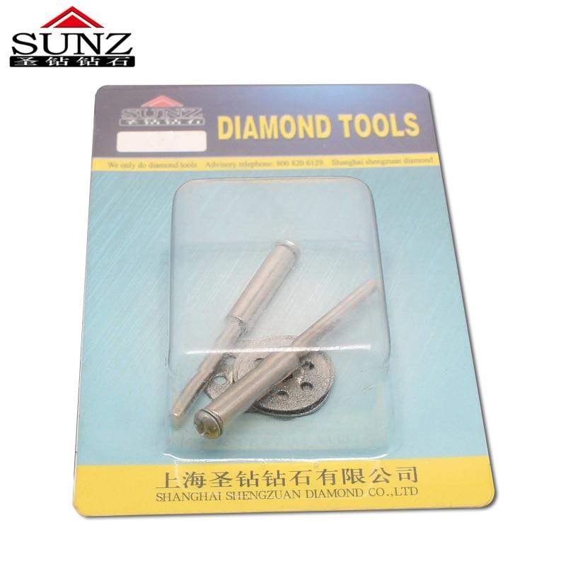 20 mm5pc příslušenství pro dremel Diamantové kotoučové pilové - Brusné nástroje - Fotografie 5