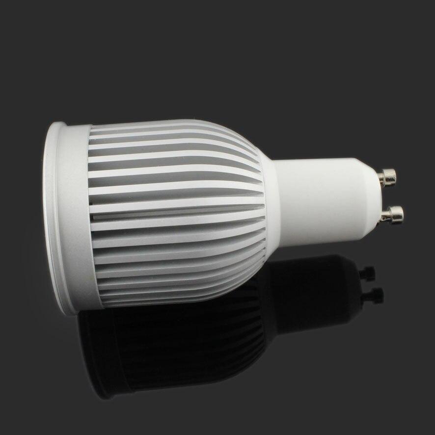 30 pcs/lot 85 265V GU10 E27 MR16 GU5.3 E14 7w 9W COB LED Spot ampoules lampe blanc chaud/blanc froid haute luminosité 4300k - 2