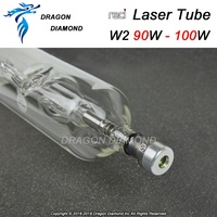 Reci W2 CO2 Laser Tube 90w Diameter 80mm Length 1200mm for CO2 Laser Engraving&Cutting Machine Upgrade S2 Z2