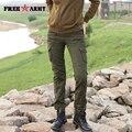Envío Marca Más Tamaño Ocasionales Flojos Basculador Pantalones Cargo Del Ejército Mujer Verde Del Ejército Overol Pantalones Encuadre de cuerpo entero Gk-9366A