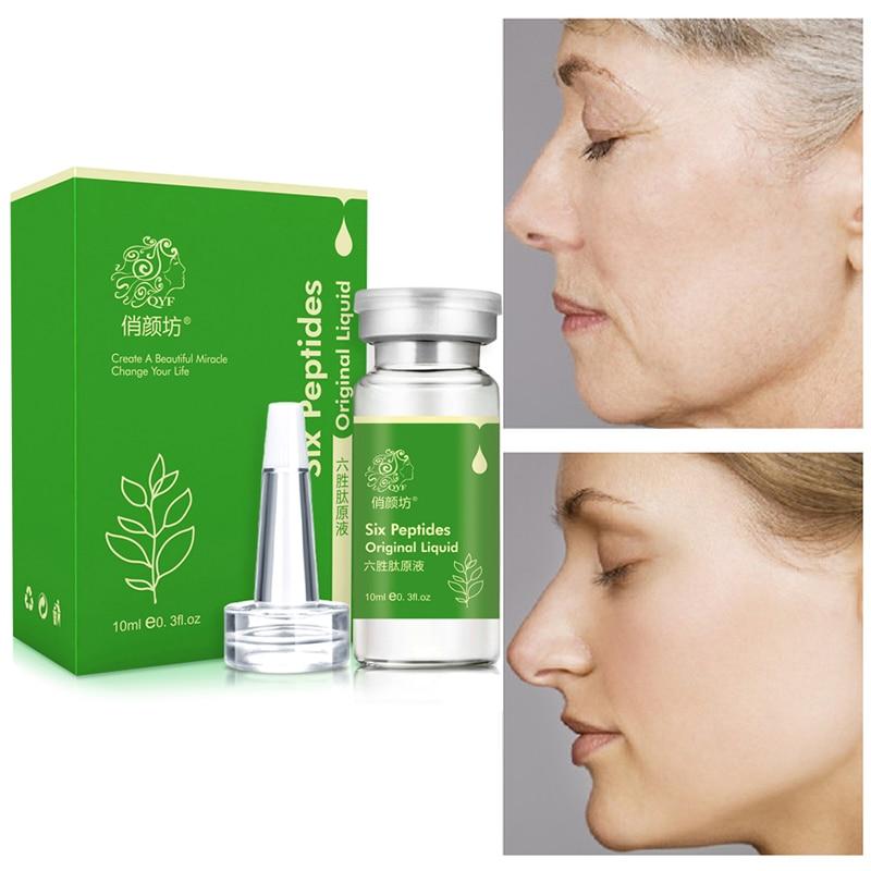 Six Peptides Serum for Face Крем от морщин против старения Отбеливающий коллагеновый крем для лица Лифтинг кожи лица Увлажняющая эссенция