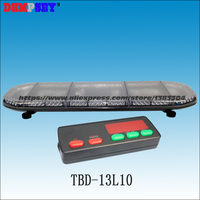 TBD 13L10 super bright LED Lightbar strobe light bar (amber/blue/red/white), engineering/emergency/police warning lightbar