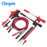 P1600C 4mm Banana Plug Alligator Clip Test Hook Broken Wire Hook Multimeters Rod Test Suite