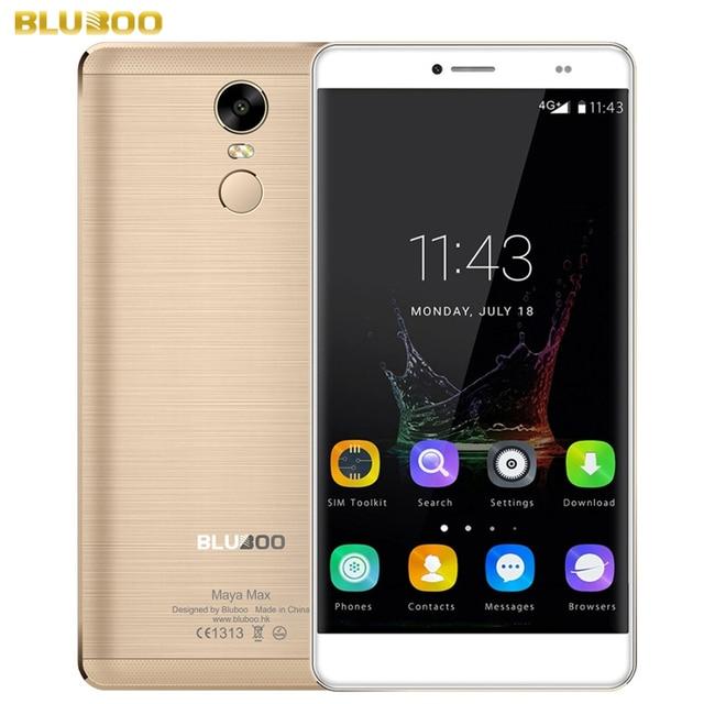 Original BLUBOO Maya Max 32GB/3GB Network 4G Fingerprint Identification 6.0'' Android 6.0 MTK6750 Octa Core 1.5GHz Support OTG