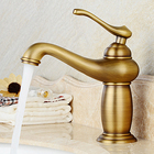 archaize faucet Single lamp sink basin washing a face undercounter hot and cold Bibcock of restoring ancient ways