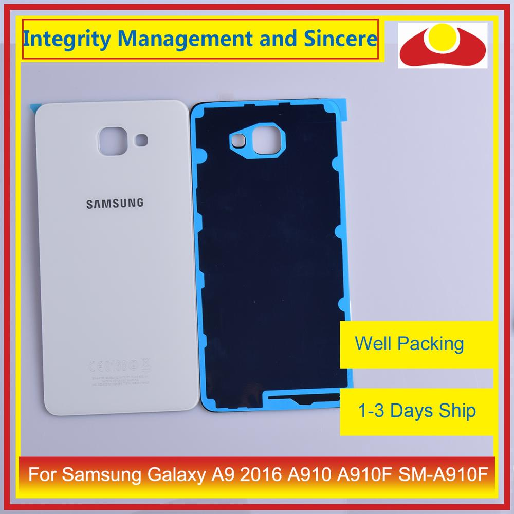 Image 4 - Original For Samsung Galaxy A9 Pro A910 A9100 A910F Housing Battery Door Rear Back Cover Case Chassis Shell Replacement-in Mobile Phone Housings & Frames from Cellphones & Telecommunications