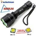 С8 Светодиодный Фонарик 4000 Люмен CREE XM L2 lanterna Светодиодный Фонарик Отдых Туризм Ourdoor факел Проблескового Света ZK92