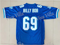 69 Billy Bob Varsity Movie Football Jersey 16 Shane Falco 7 Moran 54 Castle 33 Riggins