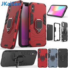 For iPhone XS MAX XR Shockproof Armor Hybrid Hard Stand Back Case For iPhone 5S 6S 6 7 8 Plus Magnetic Finger Ring Phone Cover цена и фото