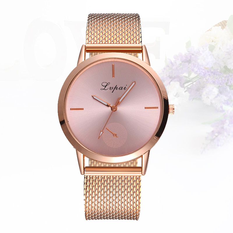 Brand Casual Quartz Watch Gift Hour Women Gold Silver Mesh Stainless Steel Dress Women Watches Relogio Feminino Clock Kol Saati