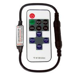 DC5V-DC 24 В 11 Ключи РФ Беспроводной удаленного светодио дный контроллер мини Диммер контроллер для одного Цвет полосы света