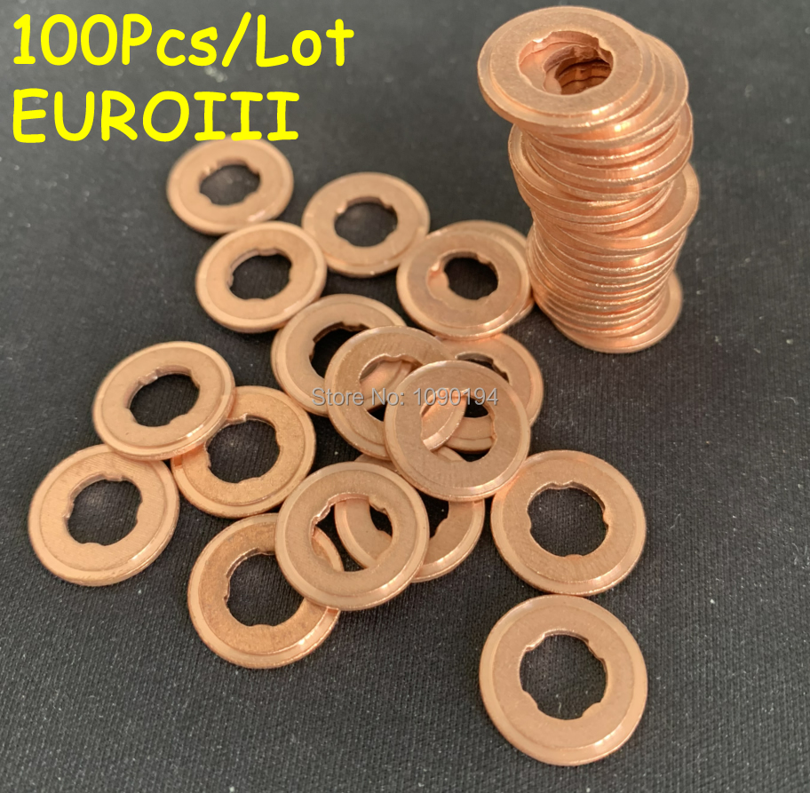 Volvo V50 2.0D Common Rail Diesel Injector Washers//Seals x 4