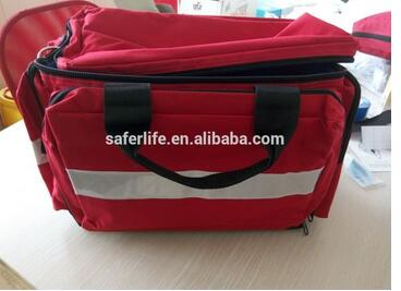2018 hot sale high quality medical rescue bag first aid kit emergency bag for doctor 5pairs pack high quality ecg defibrillation electrode patch aed accessories first aid supplies for emergency rescue use