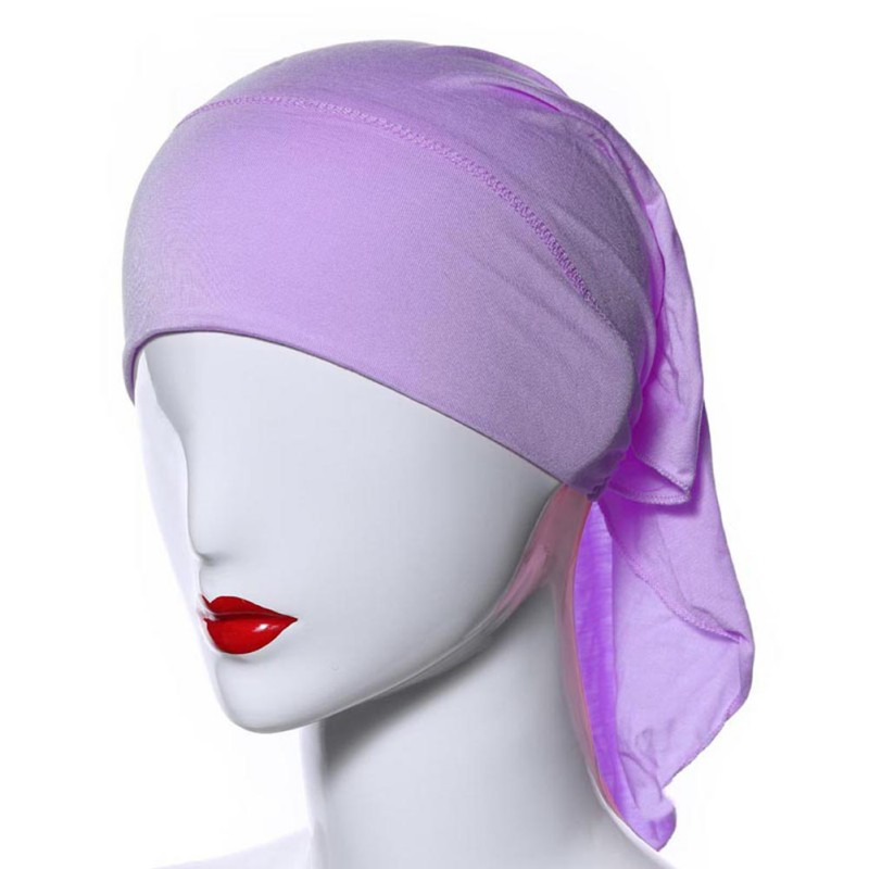 Muslim Women Soft Comfortable Inner Hijab Caps Islamic Underscarf Hats Hot
