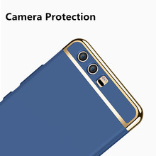 Huawei honor 9 case cover honor9 back cover hard protection blue black phone cases original MOFi Huawei honor 9 case capas 5.15