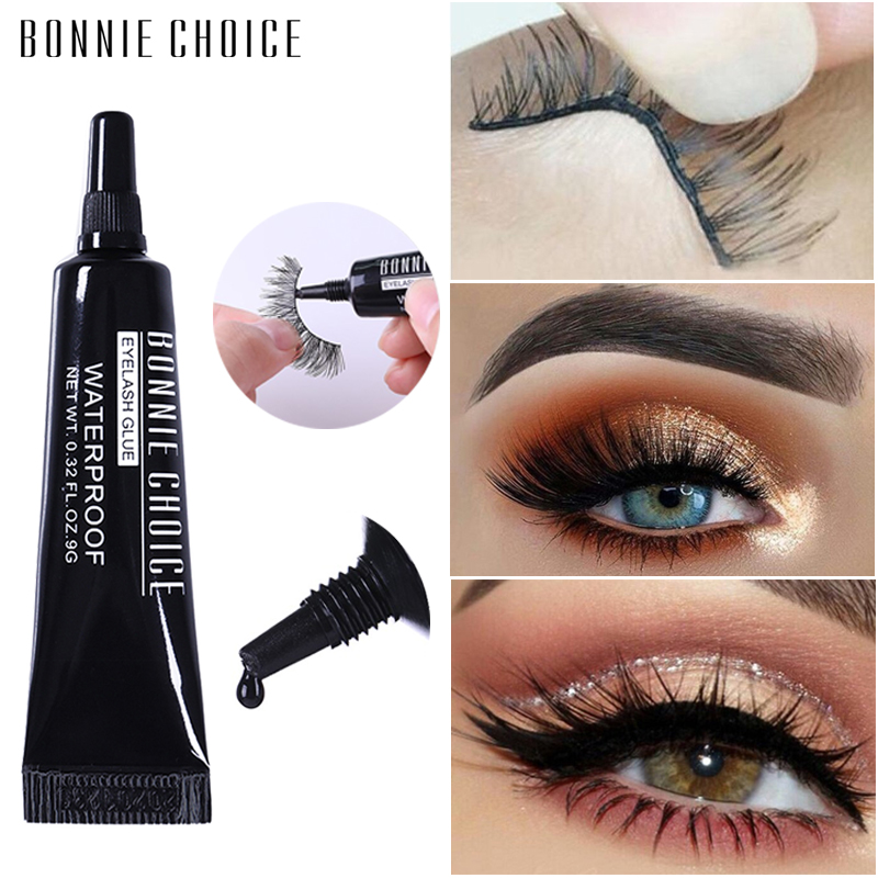 BONNIE CHOICE Eyelash Glue Clear Black Waterproof False Eyelash Adhesive Individual Glue For Lash Extension Cosmetic Tool