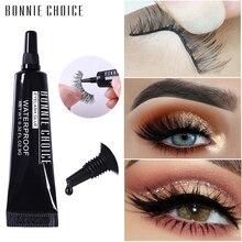 BONNIE CHOICE Eyelash Glue Black Glitter Waterproof False Eyelash Adhesive Individual Glue For Lash Extension Cosmetic Tool