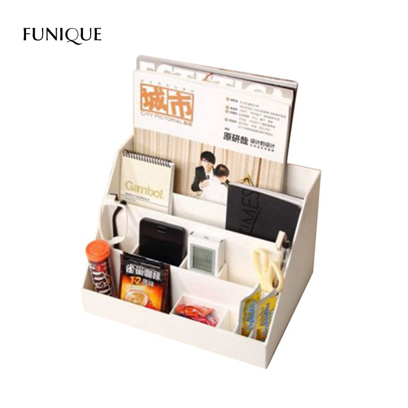 FUNIQUE Lipstick Holder Desktop Storage BoxDesktop Finishing Cabinet Office Supplies Household Items Cosmetics Multilayer