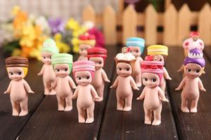 Image 4 - 8 CM Kawaii Macarons קינוח סוני מלאך פעולה איור בובות מקורי קישוטי צעצועי מהדורה מוגבלת מתנת ילדים 1 PCS באופן אקראי
