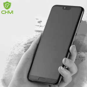 Image 1 - 3 1/PCS Matte protective Glass For Honor 10 9 P40 lite 8x 7x Screen Protector Tempered glass for huawei p30 p20 Y5 Y6 Y7 Y8 P S