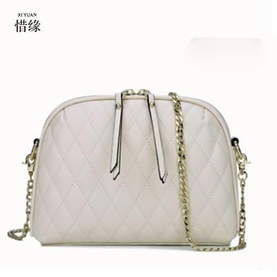 XIYUAN BRAND Women Handbag Real Genuine Leather Beige shoulder crossbody messenger Bag casual tote bags bolsa feminina sac jowissa jowissa j3 025 s