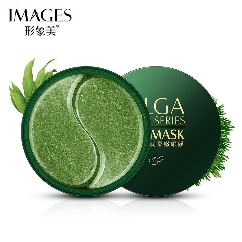 IMAGES 60pcs Seaweed Eye Mask Nourishing Moisturizing Hydration Eye Patches Dark Dircles Remove Wrinkle Eye Skin Care TSLM2