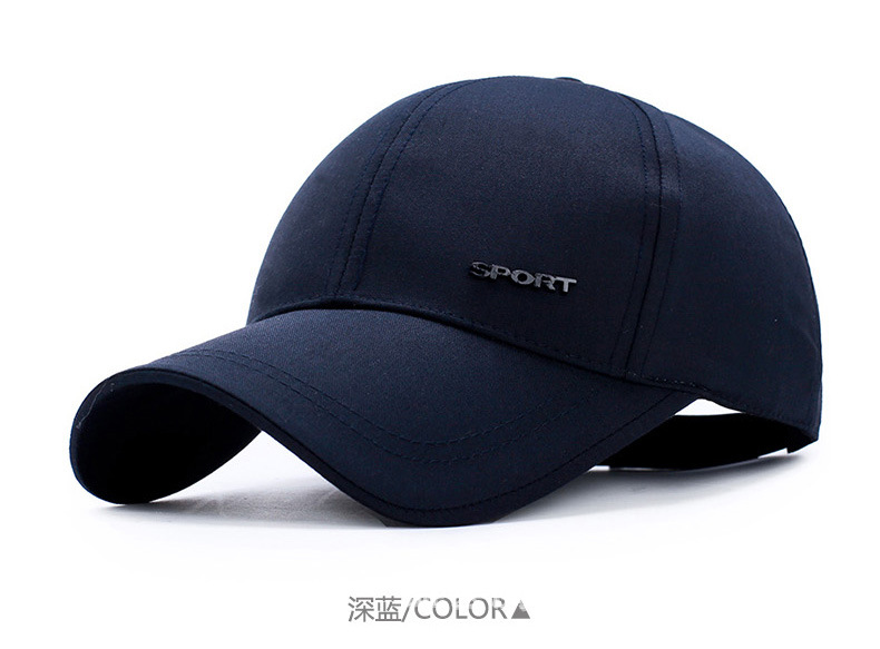 Hat Men and Women Youth White Spring Baseball Cap Outdoor Shade Leisure Sports Hat youth baseball jersey color white maroon size medium