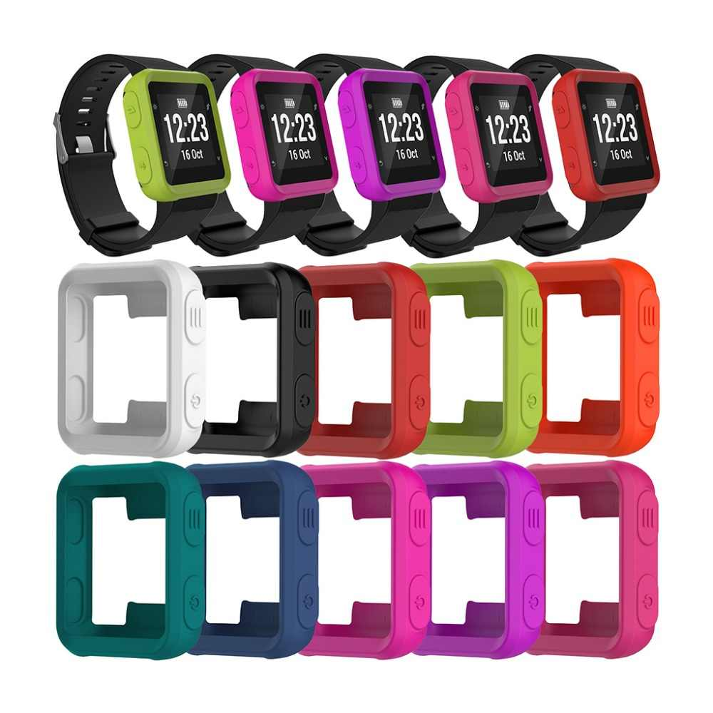 Silicone Skin Case Cover For Garmin Forerunner 35 Approach S20 Sport Watch