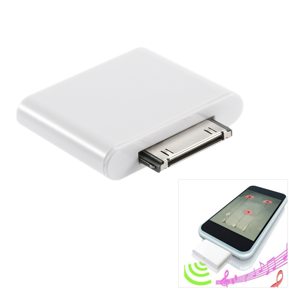 bluetooth car kit adapter dongle transmitter for ipod mini ipod nano touch video in fm. Black Bedroom Furniture Sets. Home Design Ideas