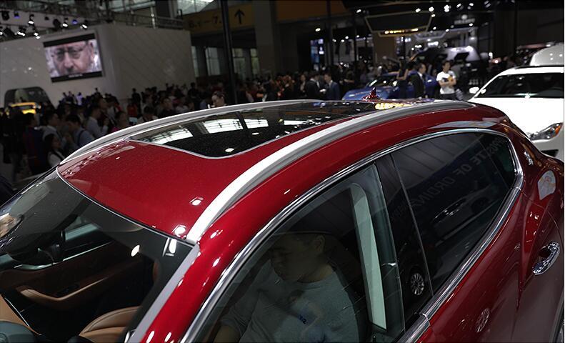 Toit de la voiture Porte-bagages bagages bar Pour 16 17 18 Maserati Levante 2016 2017 2018 OEM STYLE RAPIDE PAR SME