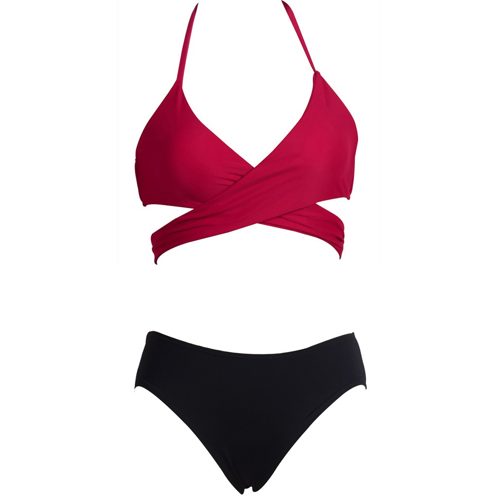 two piece swimsuit girls swimwear women brazilian bikinis swimming suit for women monokini mayo