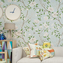 papel de pare Big Floral 3D Wall papers home decor Mural Flower Wallpaper Roll Living Room Bedroom Decoration Mural papier peint цена в Москве и Питере