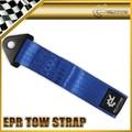 EPR Blue Tow Eye Strap Tow Loop Strap Racing Drift Rally Emergency Tool 21cm JDM SKYLINE X6 Car Accessories Car Styling
