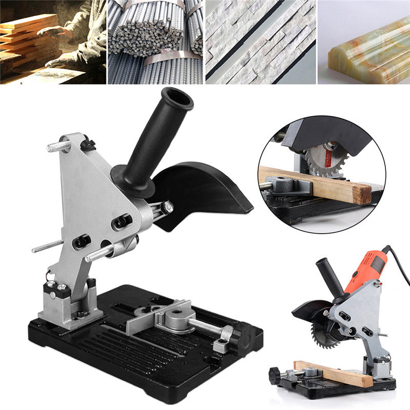 All Directions Angle Grinder Holder Electric Woodworking Power Lifting Tool Accessories Wood Milling Stand electric power tool angle grinder spiral