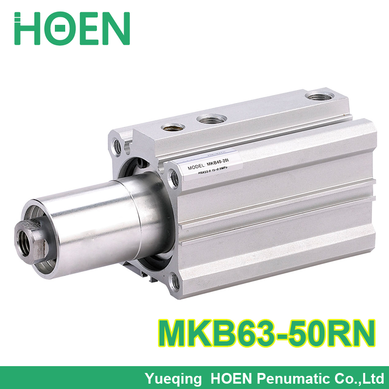 MKB63-50RN MKB Series  MKB63*50RN Double acting Rotary Clamp Air Pneumatic Cylinder  SMC Type mkb20 10l double acting rotary air cylinders 20mm bore 10mm stroke clockwise rotary clamp pneumatic cylinder mkb series