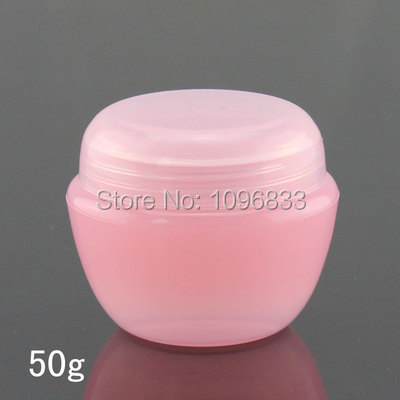 17341d38f8bf US $46.09 19% OFF 50g Pink Plastic Cosmetic Jar, Cream Bottle, Pink  Mushroom Jar, Empty Cosmetic Container, Cosmetic Sample Bottle,  45PCS/Lot-in ...