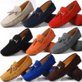 US 6-12 Really Leather Seude Leather Mens Comfort Tassel Loafer Slip On Mens Moccasin Driving Car Shoes